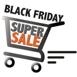 Black Friday Super Sale - winkelwagentje